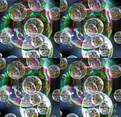 Digital Art - Bubble Time by Nareeta Martin