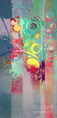 Bubble Tree - 285l Print by Variance Collections