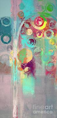 Bubble Tree - 285r Print by Variance Collections