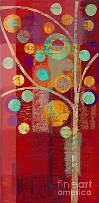 Bubble Tree - 85lc13-j678888 Art Print by Variance Collections