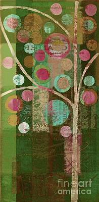 Bubble Tree - 85lc16-j678888 Art Print by Variance Collections