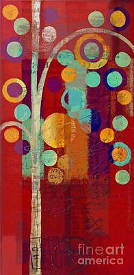 Painting - Bubble Tree - 85rc13-j678888 by Variance Collections