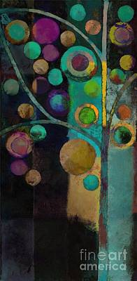 Painting - Bubble Tree - J122129155lv11 by Variance Collections