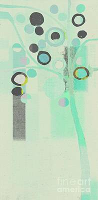 Bubble Tree - S85c39l Art Print