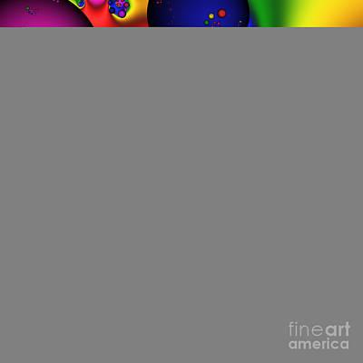 Bubblegum 140 Art Print by Rolf Bertram