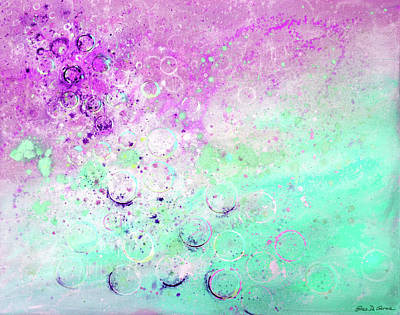 Painting - Bubbles 2 by Gina De Gorna