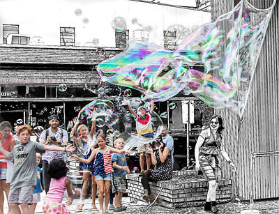 Photograph - Bubbles by Bill Linhares