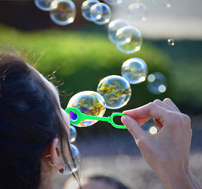 Dave Taylor Photograph - Bubbles by Dave Taylor
