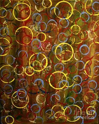 Bubbles In Light Art Print