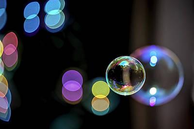 Photograph - Bubbles In The Air by John Haldane