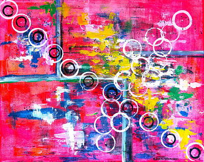 Painting - Bubbles Of Hope by Gina Nicolae Johnson