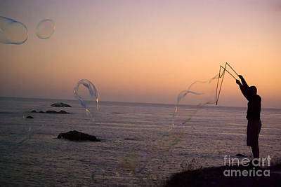 Photograph - Bubbles On The Beach by Jim And Emily Bush