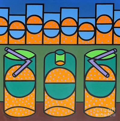 Fizz Painting - Bubbles by Patrick J Murphy