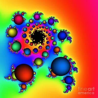 Bubbles Three Art Print by Rolf Bertram