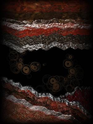 Digital Art - Bubbling Up by Michael Hurwitz