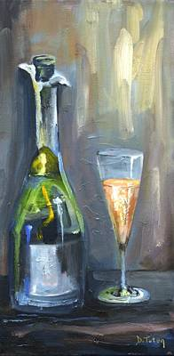 Painting - Bubbly by Donna Tuten