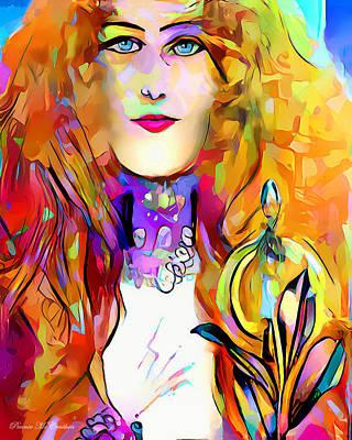 Digital Art - Bubbly Personality by Pennie McCracken