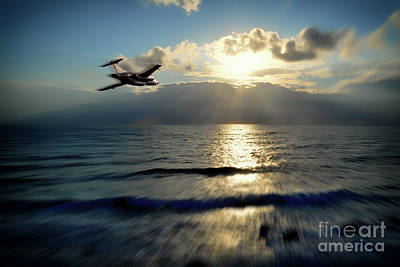 Buccaneer Strike Art Print by J Biggadike
