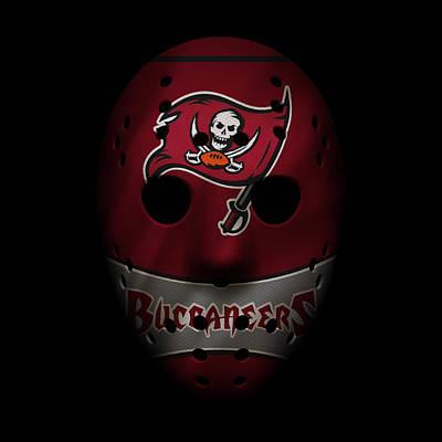 Buccaneers War Mask 4 Art Print
