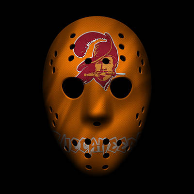 Buccaneers War Mask Art Print by Joe Hamilton