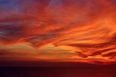 Nuevo Vallarta Photograph - Bucerias Sunset Series-2 by Stacie Gary