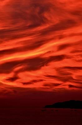 Nuevo Vallarta Photograph - Bucerias Sunset Series-4 by Stacie Gary