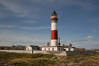 Photograph - Buchan Ness Lighthouse by Rasma Bertz