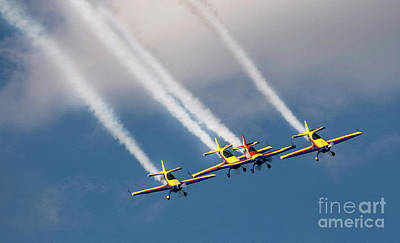 Photograph - Bucharest International Air Show by Daliana Pacuraru