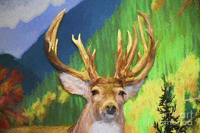 Painting - Buck 162 by Ray Shrewsberry