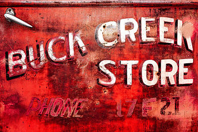 Junk Photograph - Buck Creek Store by Todd Klassy