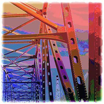 Buck O'neal Bridge, Kansas City Mo Art Print