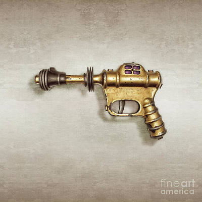 Science Fiction Royalty-Free and Rights-Managed Images - Buck Rogers Ray Gun by YoPedro