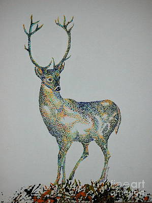 Painting - Buck by Tamyra Crossley
