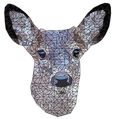 Stag Digital Art - Buck The Deer by David Smith
