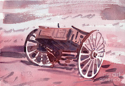 Painting - Buckboard by Donald Maier