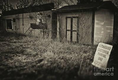 Photograph - Buckboard Parking by Fred Lassmann