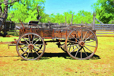 Photograph - Buckboard Wagon 12618 by Ray Shrewsberry