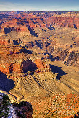 Vermeer Rights Managed Images - Bucket List 2 Grand canyon National Park Arizona Art Royalty-Free Image by Reid Callaway