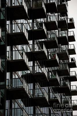 Photograph - Buckhead Balconies by David Bearden