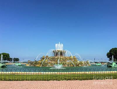 Photograph - Buckingham Fountain by David Levin