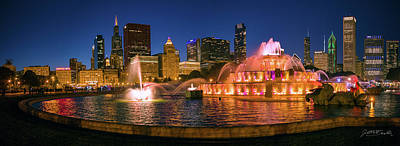 Photograph - Buckingham Fountain by Judith Barath