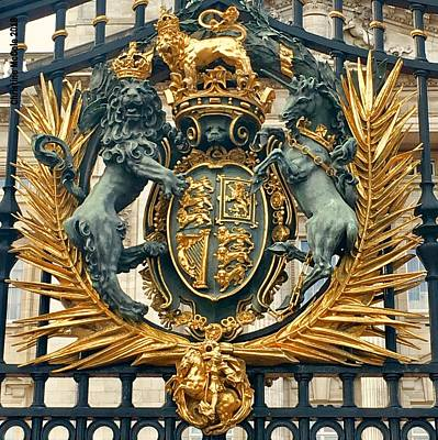 Christmas Trees - Buckingham Palace Code of Arms by Christine McCole