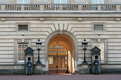 Photograph - Buckingham Palace Guards London Icon by Haleh Mahbod