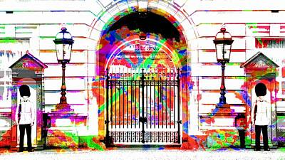 Buckingham Palace Art Print by Jean Francois Gil