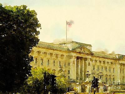 Buckingham Palace Digital Art - Buckingham Palace by John Holt