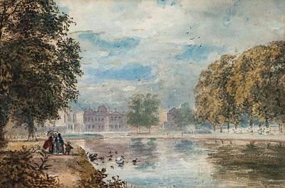 Buckingham Palace Painting - Buckingham Palace by Paul Jacob