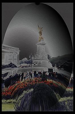 Buckingham Palace Digital Art - Buckingham Palace by Ryan Fox