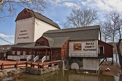 Photograph - Bucks County Playhouse I by Kristia Adams