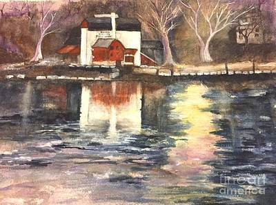 Painting - Bucks County Playhouse by Lucia Grilletto