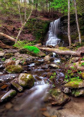 Waterfall Photograph - Bucktail Falls by Mark Papke